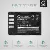 2x Batterie pour appareil photo Panasonic GH5 Lumix DC-GH5s DMC-GH4 GH4 GH4r GH4h GH3 Lumix DMC-GH3h GH3a G9 Lumix DC-G9 - DMW-BLF19 DMW-BLF19E DMW-BLF19PP 2000mAh Batterie Remplacement