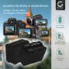 2x Kamera Akku für Sony HXR-NX100 -NX5 HXR-MC2500 HDR-FX7 -FX1 -FX1000 HVR-Z1 HVR-HD1000 DSR-PD150 -PD170 DCR-VX2100 NEX-ES50 -FS700M GV-D200 - NP-F930 NP-F950 NP-F960 NP-F970 XL-B2 XL-B3 Ersatzakku 6600mAh , Batterie