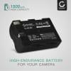 Batteri for Sigma SD14 / SD15 / SD1 / SD1 Merril - BP-21 (1500mAh) reservebatteri