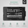 Batteria CELLONIC® CGA-D54 CGR-D120 -D220 per Panasonic AG-DVX100 NV-GS11 NV-DS60 NV-GS1 NV-DS27 NV-DS29 NV-MX500 NV-DA1 NV-DS15 Affidabile ricambio da 2200mAh sostituzione