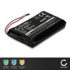 Batterie pour navigateur GPS Garmin Zumo 390, Zumo 350, Zumo 340 (010-01043-01, 020-00218-05) - 361-00059-00 1800mAh