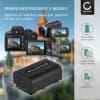 Batteria CELLONIC® NP-FV50 NP-FV70 NP-FV100 per Sony FDR-AX33 AX53 AX100e HDR-PJ810 PJ530e PJ330e PJ260 HDR-CX625 CX190 CX220 CX250 CX280 Affidabile ricambio da 650mAh sostituzione