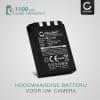 Batterij voor Olympus C-770 C-765 Ultra Zoom C-760 C-50 Zoom C-60 C-70 C-5000 C-7000 FE-200 Stylus 300 Mju 400 camera - LI-10B,LI-12B 1100mAh Vervangende Accu voor fototoestel