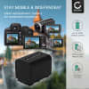 Battery for Sony FDR-AX100 HDR-CX900 HDR-PJ540 NEX-VG900 NEX-VG30 (1500mAh) NP-FV70