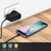 Chargeur de Batterie pour Sony Ericsson C902 / C903 / C510 / C702 / C905 / G705u / G502 / G700 / G900 - 1.1m (0.5A / 500mA)