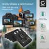 2x Batterie pour appareil photo Canon Digital IXUS 300 330 400 430 500 IXUS V V2 V3 PowerShot S100 Digital ELPH S110 S200 S230 S300 S330 S400 S410 S500 - NB-1LH 950mAh Batterie Remplacement