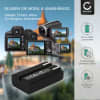 Kamera Akku für Nikon Coolpix 4300 Coolpix 4500 Coolpix 4800 Coolpix 5000 Coolpix 5400, Konica Minolta DiMAGE A200 - EN-EL1,NP-800 Ersatzakku 750mAh EN-EL1, Batterie