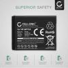 Battery for Samsung WB35F, DV150F, WB50F, ST30, ST70, WB30F, ST150F, ST72, ES65, MV800 - BP70A, AD43-00194A (700mAh) Replacement battery