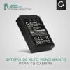Bateria para camaras Olympus OM-D E-M10 Mark II III E-M5 Mark III Pen E-PL9 E-PL1 PL10 PL2 PL3 PL5 E-PL6 E-PL7 E-PL8 E-P3 E-PM1 - BLS-5 BLS-50 900mAh Batería de repuesto