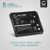 Kamera Akku für Canon PowerShot SX710 HS SX700 HS, SX500 IS SX510 HS SX530 HS SX540, SX600 HS SX610 HS, SX260 HS SX240 HS, SX170 IS, S95 S120, PowerShot D20 D1, IXUS 105, Digital IXUS 95 IS - NB-6L,NB-6LH Ersatzakku 1000mAh , Batterie