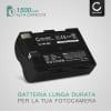 Batteria per Sigma SD14 / SD15 / SD1 / SD1 Merril (1500mAh) BP-21