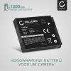 Batterij voor Canon PowerShot SX530 SX500 IS SX510 HS SX520 HS SX540 HS SX260 HS SX170 IS SX610 HS SX710 HS S120 S95 camera - NB-6L NB-6LH 1000mAh Vervangende Accu voor fototoestel
