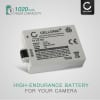 LP-E5 Battery for Canon EOS 1000D EOS 450D EOS 500D EOS Rebel T1i EOS Rebel XS EOS Rebel Xsi 1020mAh Digital Camera Battery Replacement Spare Battery Backup Power Pack