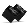 2x Batterie pour appareil photo Panasonic AG-AC8 AG-AC8EJ AJ-PX270 AJ-PX298 HC-MDH2 HC-X1000 - VW-VBD29 VW-VBD58 VW-VBD78 CGA-D54 AG-VBR59 6600mAh VW-VBD29,VW-VBD58 Batterie Remplacement