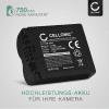 Kamera Akku für Panasonic DMC-FZ50 FZ50 DMC-FZ7 DMC-FZ8 DMC-FZ18 DMC-FZ28 DMC-FZ30 / V-LUX 1 - CGR-S006e CGA-S006a DMW-BMA7 BP-DC5 Ersatzakku 750mAh , Batterie
