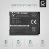Kamera Batteri til Nikon CoolPix S33 S32 S2500 S3100 S3300 S3500 S3700 S4200 S4300 S5300 S6800 S6900 S7000 CoolPix W100 CoolPix A300 A100, DSC-RX0 - EN-EL19 NP-BJ1 700mAh ENEL19 Udskiftsningsbatteri til kamera