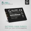Batteria CELLONIC® NP-20 NP-20DBA per Casio Exilim EX-Z75 -Z3 -Z4 -Z5 -Z6 -Z7 -Z11 -Z12 -Z15 -Z18 -Z60 -Z65 -Z70 -Z77 EX-S770 -S1 -S100 -S2 -S3 -S500 -S600 -S880 EX-M2 Affidabile ricambio da 700mAh sostituzione