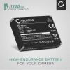 NB-5L Battery for Canon Powershot S110 S100 SX230 HS SX220 HS SX210 IS SX200 IS SD790 IS SD880 IS SD870 IS SD800 IS Digital IXUS 860 IS 960 IS 850 IS 1120mAh Digital Camera Battery Replacement Spare Battery Backup Power Pack