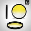 Filtre gradient couleur Jaune pour Ø 37mm