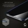 Cristal protector de la pantalla Sony Xperia XZ1 (3D Full Cover, 9H, 0,33mm, Edge Glue) Protector pantalla