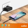 Chargeur pour tablette Lenovo Yoga Tablet / YOGA Tab 3 / ThinkPad Tablet / IdeaTab A / IdeaTab S / Tab2 / Tab4 / Tab10 - Alimentation 5V 2.5A, Cordon / Câble de Charge 1.2m