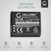 Batteria per Ricoh CX3 CX4 CX5 CX6, Ricoh GR Digital III, Ricoh HZ15, Ricoh PX, Ricoh Theta V - 37838 D-LI92 DB-100 LB-050 770mAh Sostituzione Batteria Ricambio