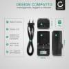 Caricabatteria CELLONIC® VSB0418 per Panasonic AG-DVX100, NV-DS60, -DS65, -DS29, NV-GS11, -GS1, NV-MX500 Caricatore da rete compatto e poco ingombrante