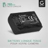 Batterie pour appareil photo Sony A230 A290 A330 A380 A390 DSC-HX1 HX200V HX100V CX7 HDR-SR11 HDR-SR12 DCR-SR45 DCR-SR42 - NP-FH40 NP-FH50 -FH60 700mAh Batterie Remplacement