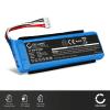 2x Batterie pour JBL Charge 3 (2016) - GSP1029102A (6000mAh) Batterie Rechange
