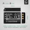 KLIC-5001 Battery for Kodak Easyshare DX6490, DX7440, DX7590, DX7630, Easyshare P850, P880, Easyshare Z730, Z7590 1600mAh Digital Camera Battery Replacement Spare Battery Backup Power Pack