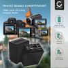 2x Batterie pour appareil photo Sony FDR-AX33, -AX100, -AX53, -AXP33, HDR-PJ620, -PJ810, HDR-CX900, NEX-VG30 - NP-FV90 2200mAh NP-FV90 Batterie Remplacement