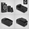 Chargeur D-BC7 pour D-LI2 & D-LI7 (Pentax Optio 330 Optio 330RS Optio 430 Optio 430RS Optio 450 Optio 550 Optio 555 Optio 750Z Optio MX Optio MX4)