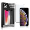 Displaybeschermglas Apple iPhone Xs Max (3D Case-friendly, 9H, 0,33mm, Full Glue) Tempered Glass