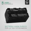 Batteria CELLONIC® NP-F970 -F96 NP-F550 -F570 -F750 -F770 -F330 per Sony HXR-MC2500 HXR-NX100 -NX5 HDR-FX1 -FX7 -FX1000 DSR-PD150 -PD170 NEX-FS700r HVR-Z1 DCR-VX2000 Affidabile ricambio da 4400mAh sostituzione