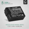 2x Kamera Akku für Panasonic Lumix DMC-FZ1000 DMC-FZ200 DMC-FZ2000 DMC-FZ300 DMC-G5 DMC-G6 DMC-G7 DMC-G70 DMC-G81 DMC-GH2 DMC-GX8 - DMW-BLC12 DMW-BLC12E Ersatzakku 1000mAh , Batterie