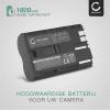 Batterij voor Canon EOS 5D 50D D60 40D 300V 300D 30D 20Da 20D 10D PowerShot G5 G6 G1 G3 G2 Pro1 ZR80 BP-511 camera - BP-511,-512,-514,BP-508 1600mAh Vervangende Accu voor fototoestel