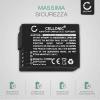 Batteria CELLONIC® DMW-BLC12 DMW-BLC12E per Panasonic Lumix DMC-FZ1000 DMC-FZ200 DMC-FZ2000 DMC-FZ300 DMC-G5 DMC-G6 DMC-G7 DMC-G70 DMC-G81 DMC-GH2 DMC-GX8 Affidabile ricambio da 1000mAh sostituzione