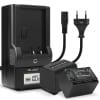 2x Kamera Akku für Sony AX100 FDR-AX700 PXW-Z90 HXR-NX80 HDR-CX625 -CX680 -CX900 -CX450 NEX-VG30 VG20 -VG10 - NP-FV90 Ersatzakku 1500mAh + Ladegerät NP-FV90, Batterie