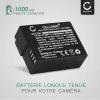2x Batterie pour appareil photo Leica Q (Typ 116) V-LUX (Typ 114) V-LUX 4, DP1Q DP2Q DP3Q - BP-DC12-E BP-51 1000mAh Batterie Remplacement