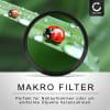 4x Close-Up Makro Filter für Ø 37mm Nahlinsen Set