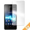 2x Pellicola protettiva di schermo per Sony Xperia V (LT25i) (trasparente)