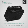 2x Batterie pour appareil photo Sony DSR-PD150, -PD170, FDR-AX1, DCR-VX2100, GV-D200, HDR-FX7e, -FX1, -FX1000 - NP-F930 NP-F950 NP-F960 NP-F970 XL-B2 XL-B3 6600mAh + Chargeur BC-VM50 Batterie Remplacement