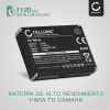 Bateria para camaras Canon Powershot S110 S100 SX230 HS SX220 HS SX210 IS SX200 IS SD790 IS SD880 IS SD870 IS SD800 IS - NB-5L 1120mAh Batería de repuesto