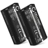 2x Batterie pour Sony MDR-IF245RK, MDR-RF4000, MDR-RF810R MDR-RF810RK MDR-RF811 MDR-RF811RK, MDR-RF840R MDR-RF840RK, MDR-RF850R MDR-RF855RK, MDR-RF860, MDR-RF970R - BP-HP550-11 700mAh