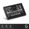 subtel® batteri til mobiltelefoner Hagenuk e100 / fono c250 / fono c800 / fono DS300 - 1050mAh - udskift dit mobilbatteri og få mere ud af din mobil