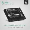 Batterij voor Toshiba Camileo X-SPORTS camera - SLB-10 1050mAh SLB-10 Vervangende Accu voor fototoestel