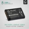 2x Batterie pour appareil photo Sony DSC-WX350, DSC-HX400V DSC-HX300 DSC-HX60 DSC-HX90V, Sony DSC-RX100 V, -RX100M5, Sony RX100 IV, RX100 III, RX100 II, Sony FDR-X3000, HDR-AS100V -AS20 -AS200V -AS50, HDR-CX240, HDR-MV1, HDR-PJ410 - NP-BX1 1090mAh NP-BX1 Batterie Remplacement