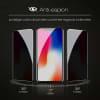 Privacy Protection d'écran en verre Huawei P30 Pro (3D Case-friendly, 9H, 0,33mm, Edge Glue) Verre trempé