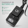 Chargeur de batterie CB-2LA, CB-2LAE pour appareil photo NB-8L (Canon PowerShot A2200, PowerShot A3000 IS, 3100 IS, 3150 IS, 3200 IS, 3300 IS, 3350 IS)