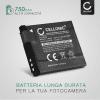 Batteria per Canon PowerShot A2200, PowerShot A3000 IS, 3100 IS, 3150 IS, 3200 IS, 3300 IS, 3350 IS - NB-8L (700mAh) batteria di ricambio
